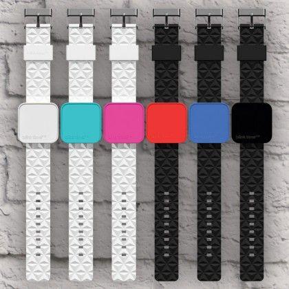 Montre Lumineuse - Blink Time Swap à Multi-Cadrans : Kas design, distributeur de produits.