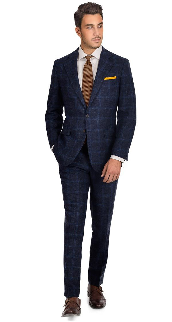 Best 25  Blue check suit ideas on Pinterest | Mens suits style ...