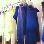 An absolutely beautiful collection by Maryling. We especially love the navy wool Maxi dress, naturally.