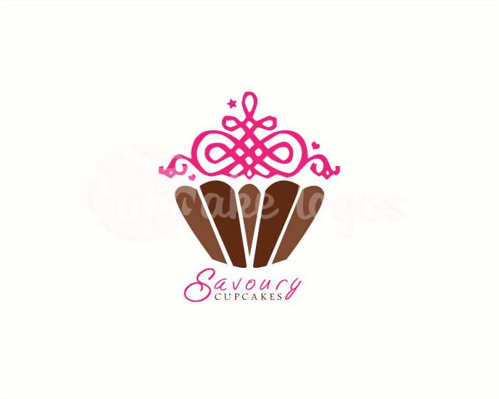 1000+ images about Luxury Cupcake logo designs on ...
