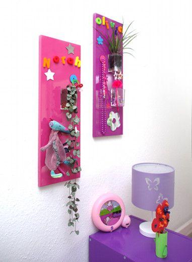 Tableau végétal MiniKipos - Les Sveltes - Chambre d'enfants