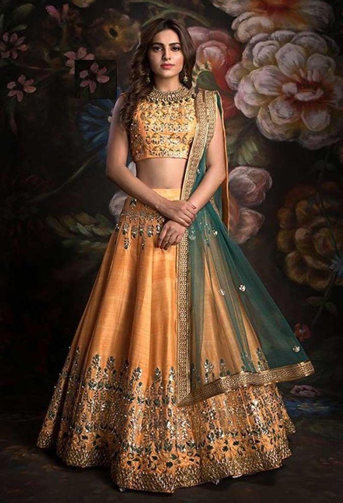 Wedding wear Lehenga Designer Indian Latest saree Bollywood lengha choli set