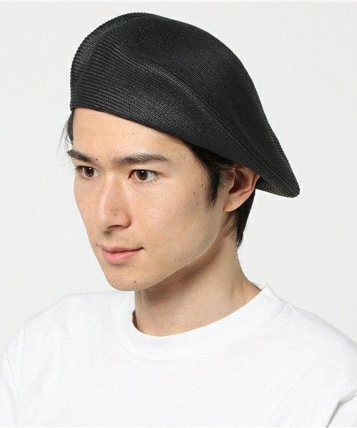 KIJIMA TAKAYUKI(キジマ タカユキ)の「KIJIMA TAKAYUKI ペーパーベレー(ハンチング/ベレー帽)」|詳細画像