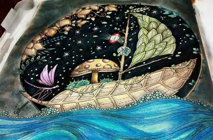 Pin De Terrie McCoy En Coloring Leaf Boat