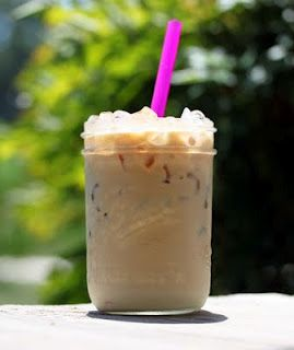 Iced Coffee...add chocolate syrup for iced mocha :)