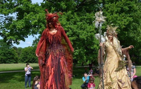 Feenfest Veranstaltung Open Air Locken Machen