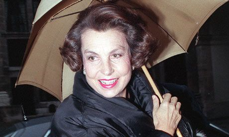 Liliane Bettencourt in 1988