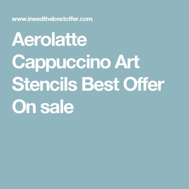 Aerolatte Cappuccino Art Stencils Best Offer On sale