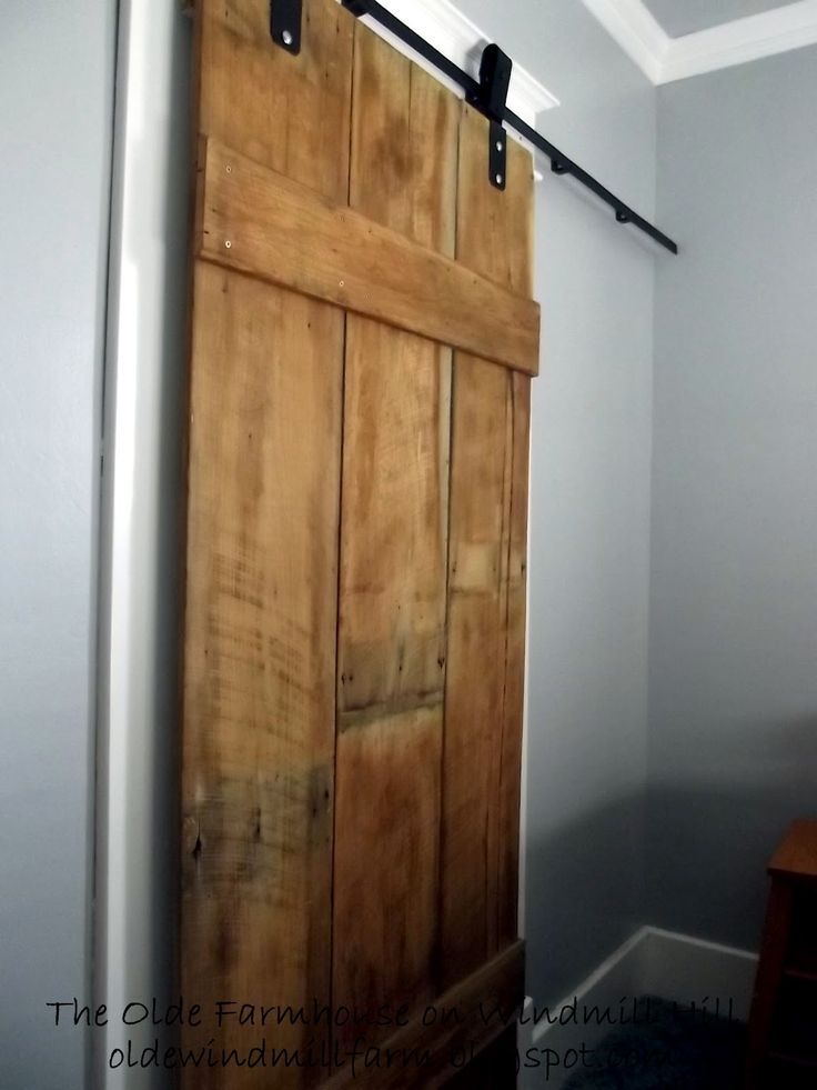 17 best images about window treatments on pinterest for Barn door window covering