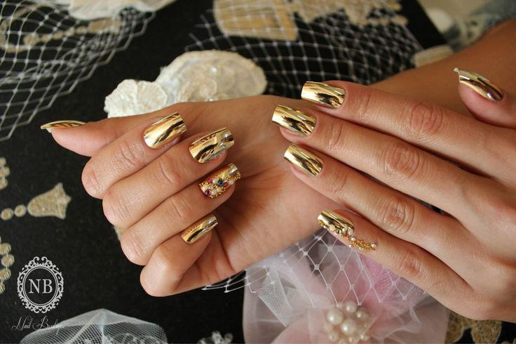 #gold#touch#nails