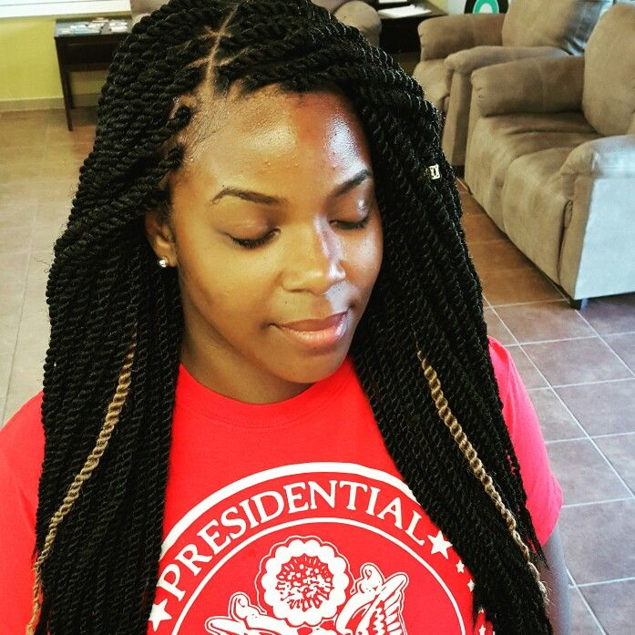 Small Marley Twists  By: Katahlia Blue  Houston Natural Stylist