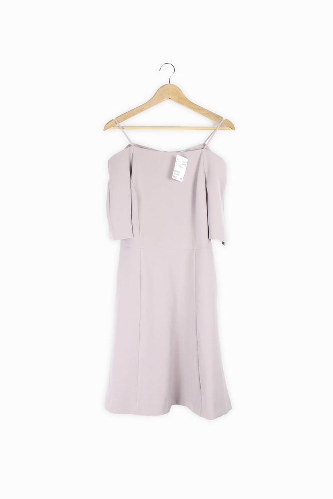 9b31b840dac0 RRP  34.99 H M grey textured cold shoulder skater dress Size 10- Brand New  w...  fashion  clothing  shoes  accessories  womensclothing  dresses (ebay  link)