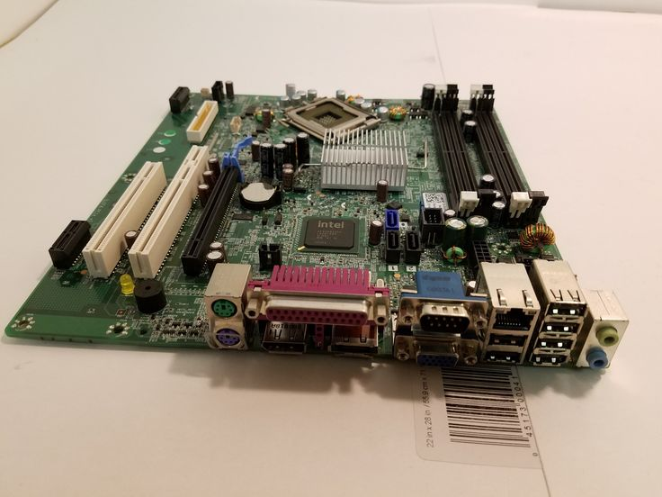 Dell Optiplex 960 Motherboard DDR2 LGA775, Dell P/N: F428D