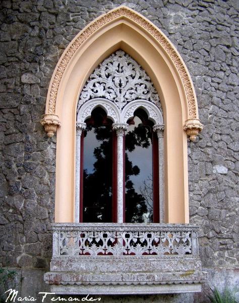 Sintra - Palácio Monserrate  Stunning windows!