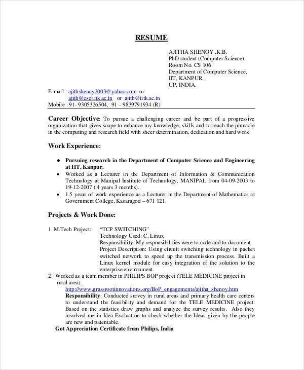 The 25+ best Resume format for freshers ideas on Pinterest - home depot resume