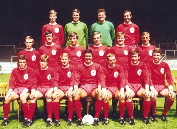 Squad picture for the 1968-1969 season - LFChistory - Stats galore for Liverpool FC!