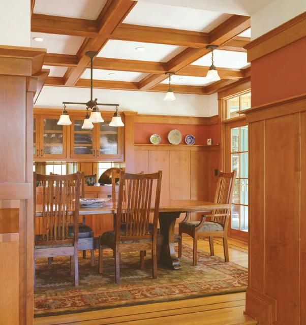 Best 25+ Craftsman Dining Room Ideas On Pinterest