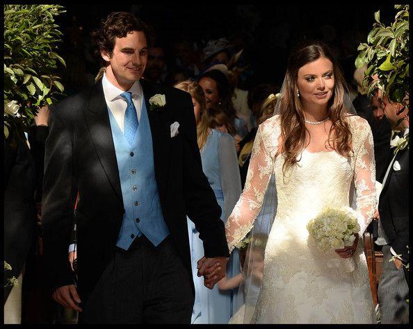 Rupert Finch and Lady Natasha Rufus Isaacs Get Married