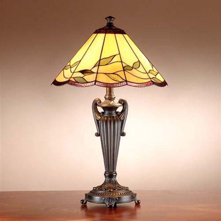 Dale Tiffany TT101118 Ivy Cascade Tiffany Table Lamp - TT101118