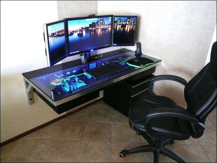 Gamer Schreibtisch Selber Bauen Schreibtisch Selber Bauen Computerspielraum Gamer Schreibtisch