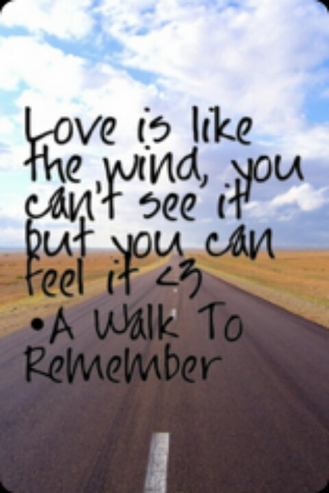 a walk to remember love quotes - photo #9