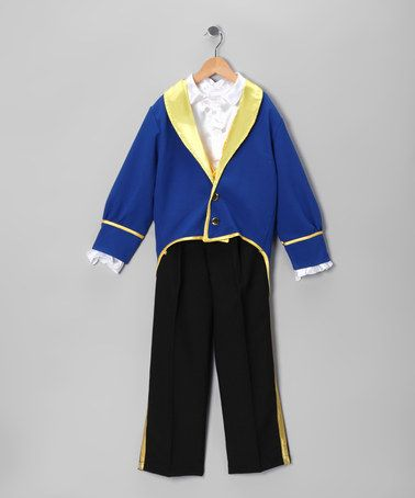 Take a look at this Royal Beauty & the Beast Dress-Up Set - Toddler & Boys by Bijan Kids on #zulily today!
