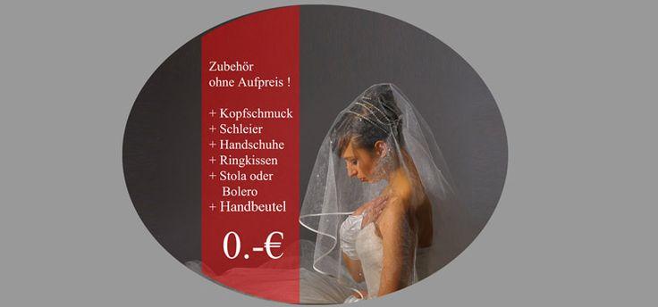 Brautkleider , Brautmode  in Köln  .  Zubehör ohne Aufpreis. Kopfschmuck , Schleier, Handschuhe, RIngkissen, Handbeutel.