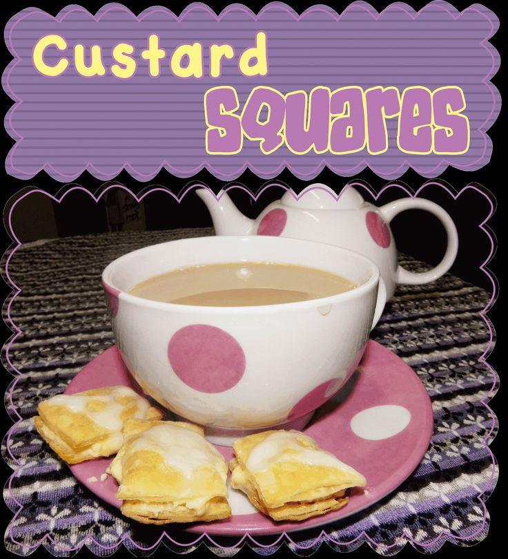 Easy Peasy Pudding and Pie!: Custard Squares