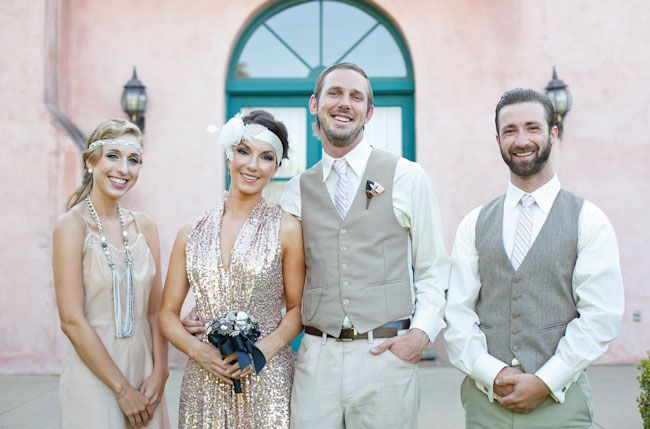 Vintage Gatsby Inspired Wedding Ceremony Dresses Daily Girl Mag