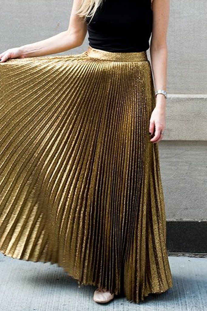 17 Best ideas about Gold Skirt Outfit on Pinterest | Gold skirt ...