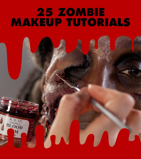 25 Best Zombie Makeup Looks