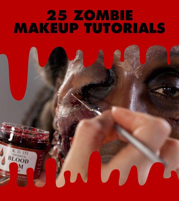 25 Best Zombie Makeup Looks