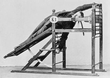 Vintage Gym stretching machine Victorian