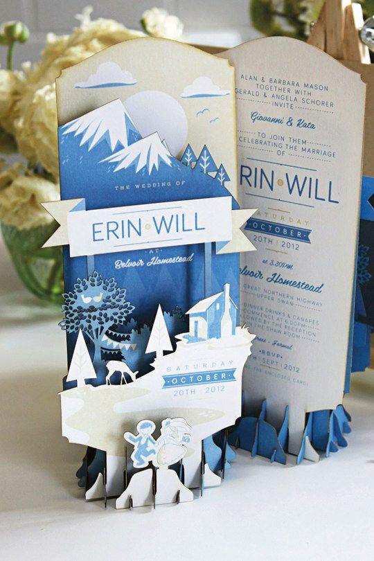 3D Wedding Invitations (BridesMagazine.co.uk)