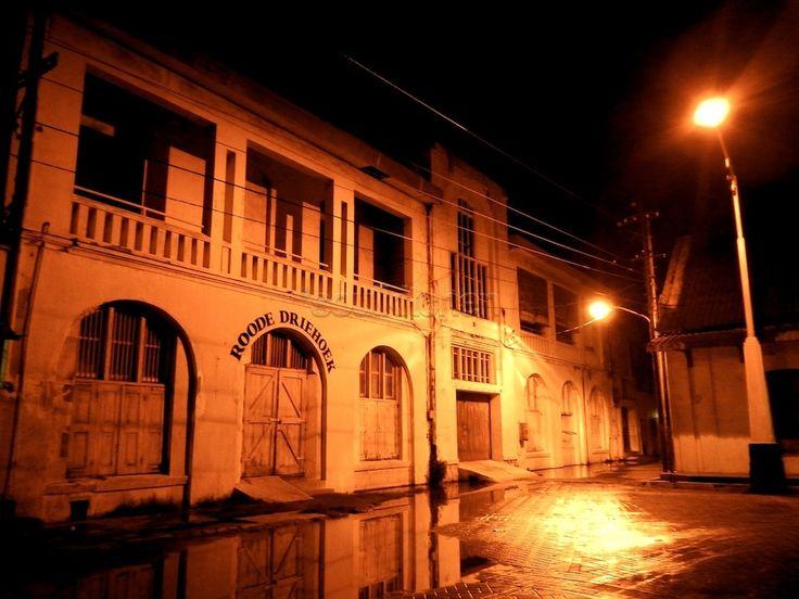 KOTALAMA Semarang by oyik - Night scene of old building