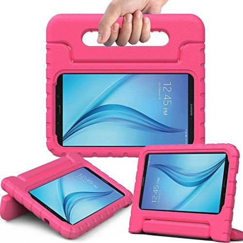 AVAWO Samsung Galaxy Tab E Lite 7.0 inch Kids Case - ShockProof Case Light Weight Kids Case Super Protection Cover Handle Stand Case for Children for Samsung Galaxy Tab E Lite 7-Inch Table (Magenta) #AVAWO #Samsung #Galaxy #Lite #inch #Kids #Case #ShockProof #Light #Weight #Super #Protection #Cover #Handle #Stand #Children #Inch #Table #(Magenta)