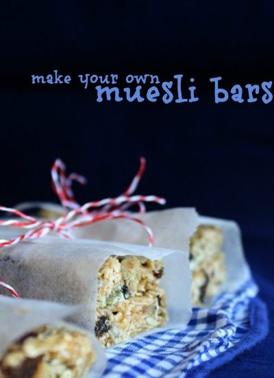 Guestpost: Muesli Bar Recipe for Kids - Little Bento Blog