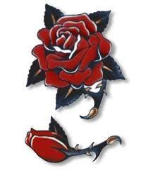 rose old school tattoo - Google 검색