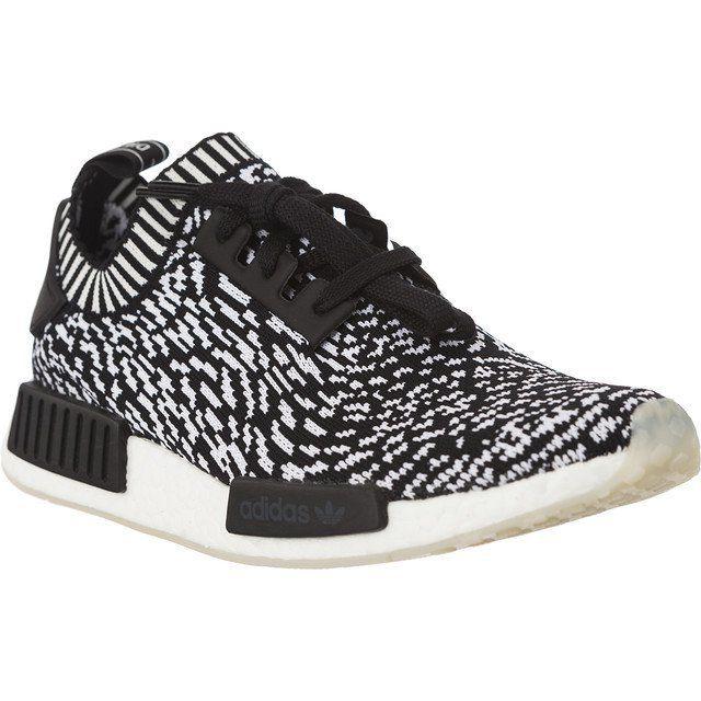 Sportowe Damskie Adidas Biale Czarne Adidas Nmd R1 Pk 013 Adidas Adidas Nmd Shoes Adidas Sneakers
