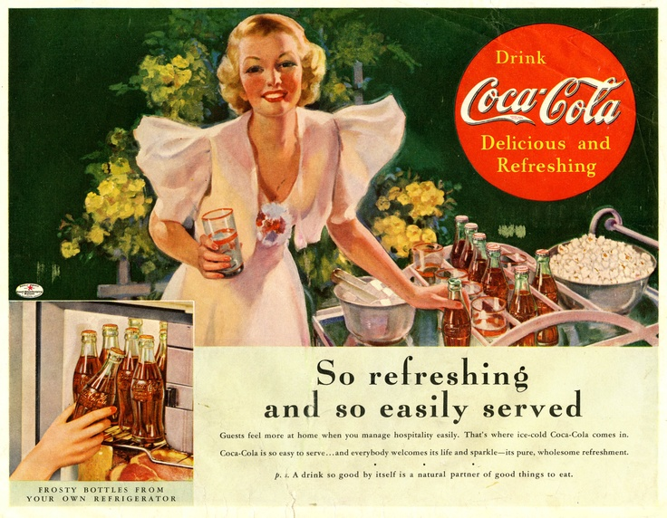 The Coke Hostess, 1937.