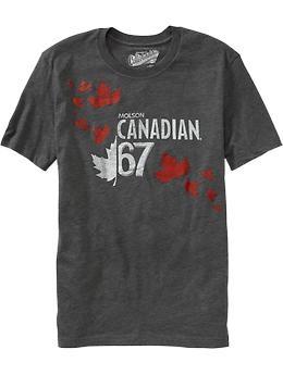 "Men's ""Molson Canadian® '67"" Tees | Old Navy"