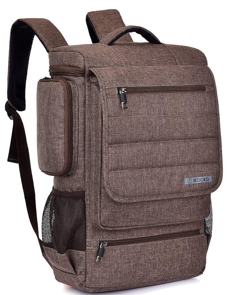 Amazon.com: Laptop Backpack ,BRINCH(TM) Multifunctional Unisex Luggage & Travel Bags Knapsack,rucksack Backpack Hiking Bags Students School Shoulder Backpacks Fits Up to 17 Inch Laptop Macbook Computer,Black: Computers & Accessories