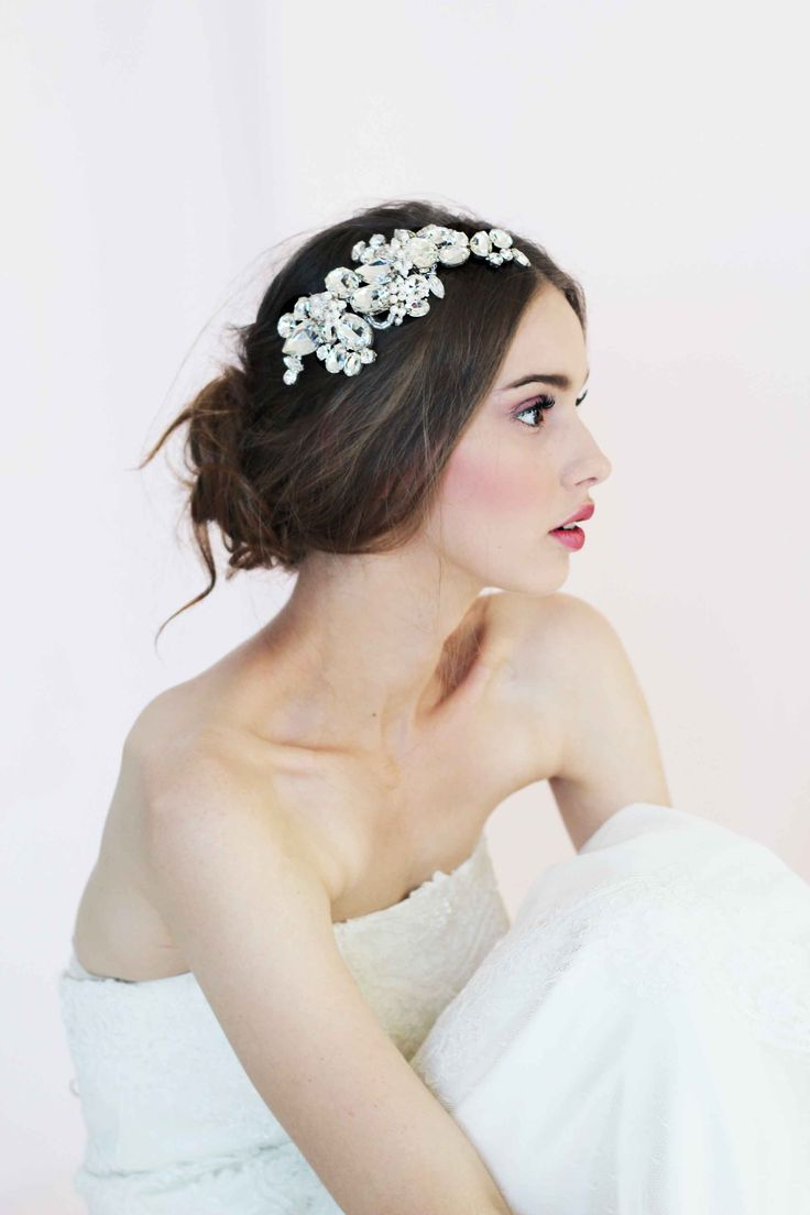 The dress access - Items Similar To Fidelia Bridal Headpiece Wedding Accessories On Etsy