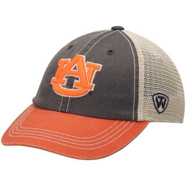Auburn Tigers Top Of The World Rookie Offroad Trucker Adjustable Hat – Navy Blue - $19.99