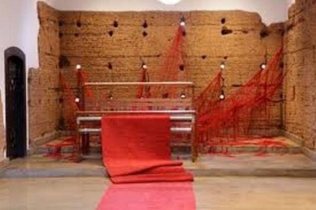 """""""La stanza di Penelope"""" installazione di Tatiana Blass, Capela do Morumbi, San Paolo del Brasile"""