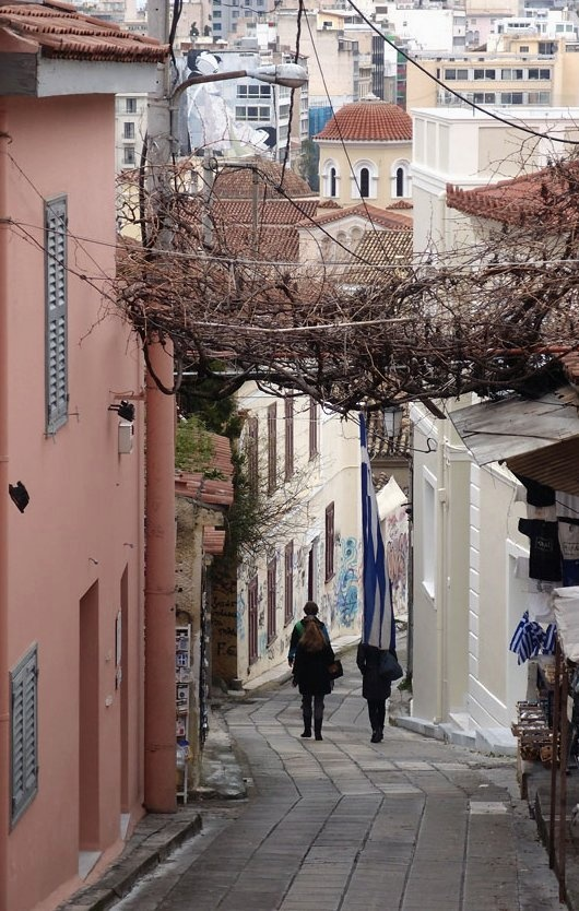 The historic district of Plaka, Athens