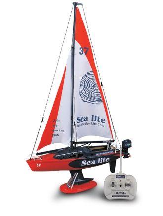 R/C Air & Sea 1:25 R/C Sailing Boat from @Kristin Myers MyStore  #MacquarieCentre #Christmas