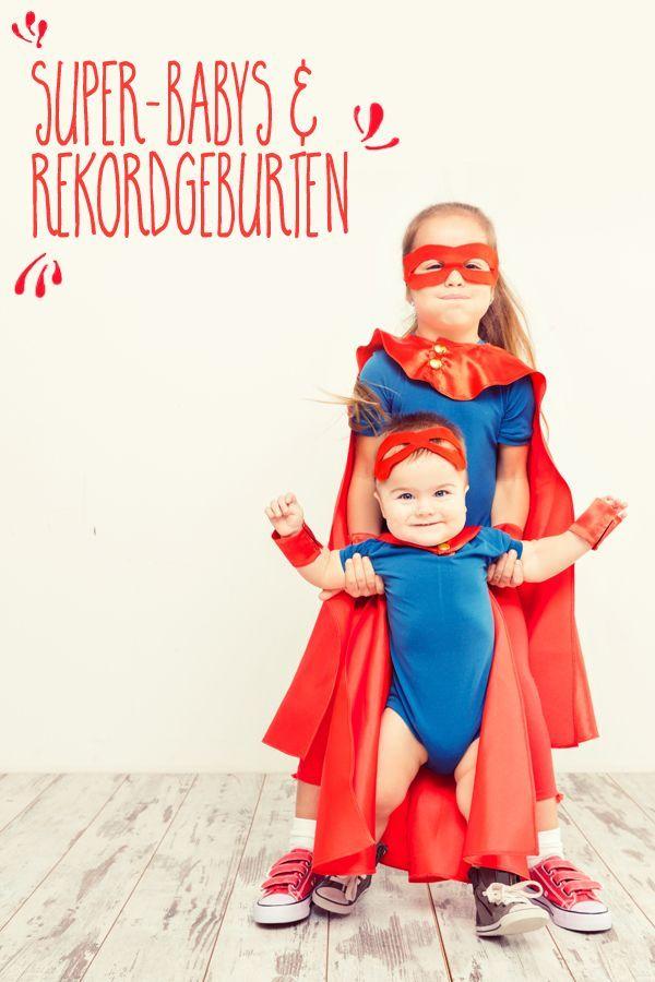 Baby Rekorde 20 Ungewohnliche Geburten Und Rekord Babys Familie De Baby Familienleben Geburt