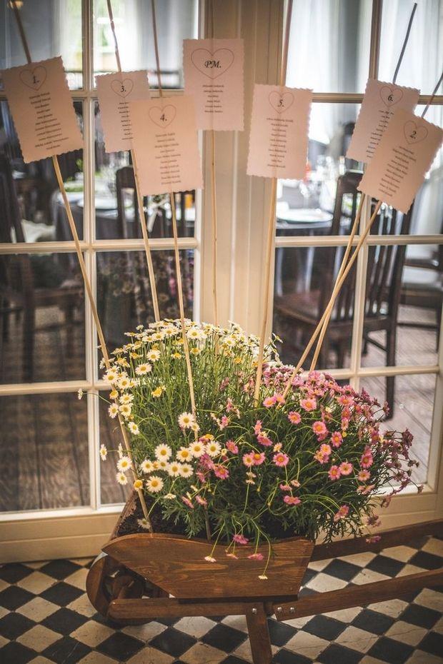 Naturalne i rustykalne dekoracje weselne • Wesele z Naturą •