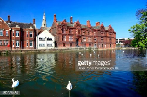 Buildings along the river Great Ouse, Bedford town,... #bedford: Buildings along the river Great Ouse, Bedford town,… #bedford